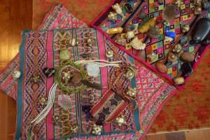 Mesa Sacred Tools Sacred Center Crystals Chumpi Stones
